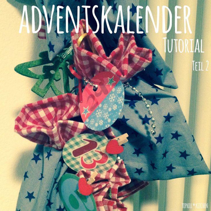 Tutorial adventskalender n hen xmas pinterest for Adventskalender pinterest