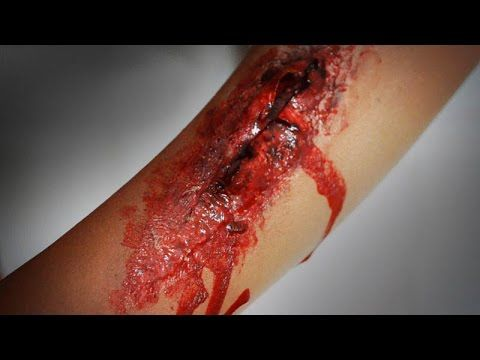how to make fake wounds for first aid