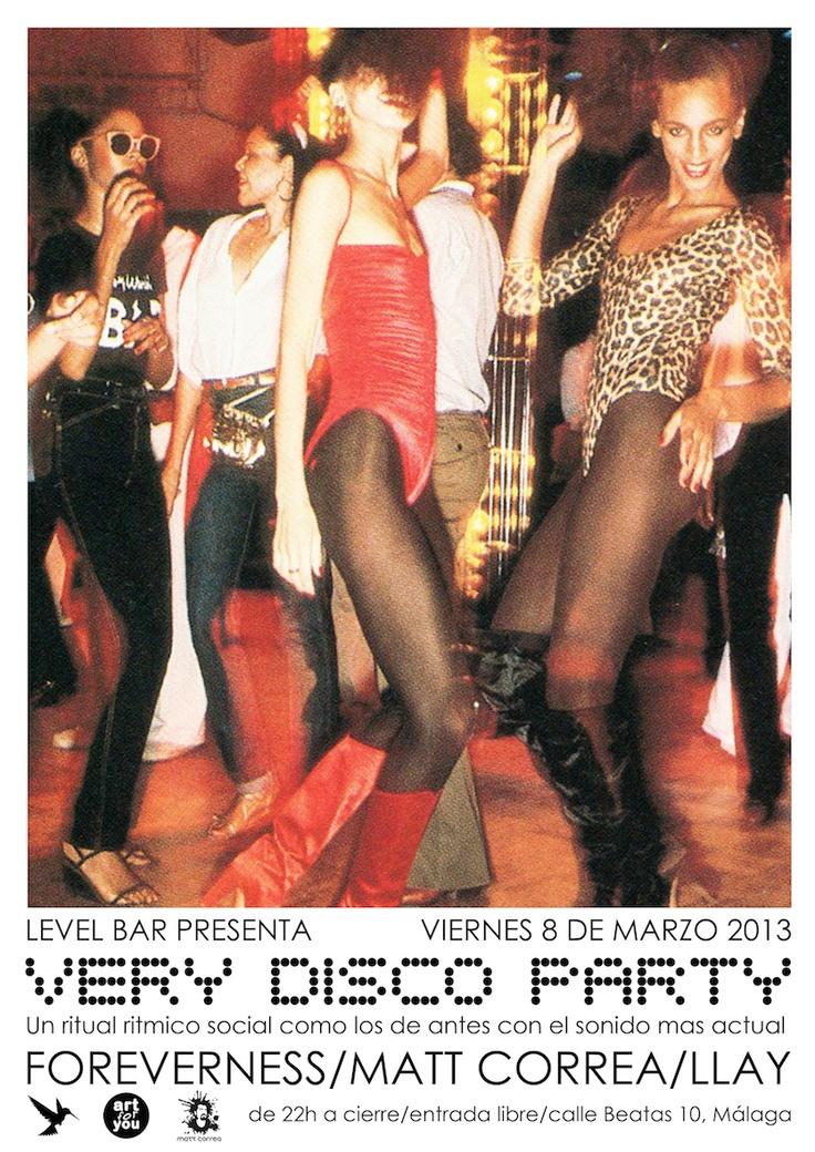 Very Disco Party @ LEVEL (Málaga)
