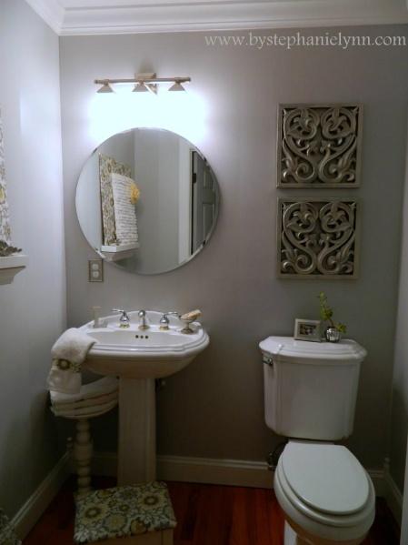 71 best images about basement idea 39 s paint colors on - Small powder room decor ...
