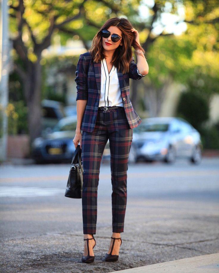 The perfect fall pant suits for petite girls (like me) | www.Sazan.me @expresslife #expresspartner