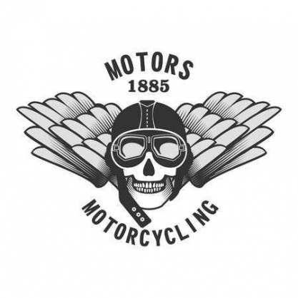 48+ Trendy Motorrad Vektor Schädel   – Motorcycling