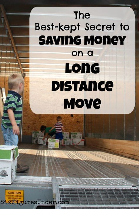 We compared one-way rental trucks and other moving options until we found U-Pack. Not only was it the least expensive, they drive the truck for you!  Can't beat that! #moving #moneysaving #ad