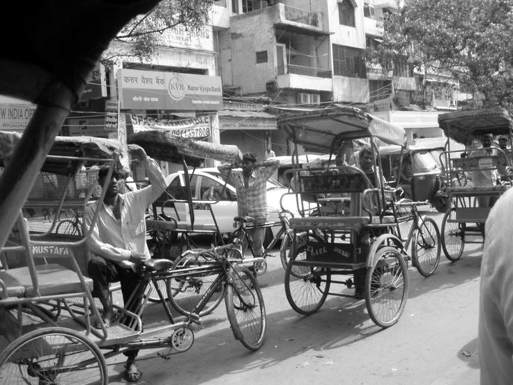 Dans les ruelles de Delhi