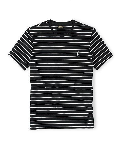 Custom-Fit Striped T-Shirt - Polo Ralph Lauren Tees - RalphLauren.com