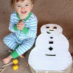 Snowman Drop Box