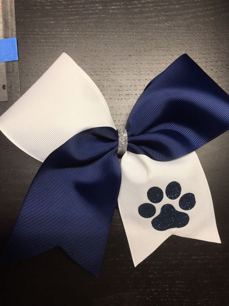 Cheer bows-monogram Cheer Bows- navu blue and white Cheer Bows- Personalized Cheer Bow- Sideline Cheer Bows