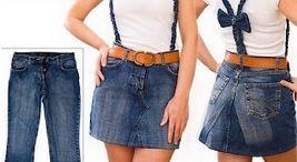 Como transformar un pantalón en falda : cosascositasycosotasconmesh