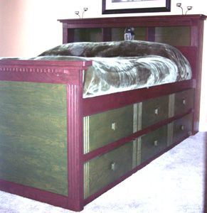queen diy bed perfect for a small bedroom with limited space for storage 6 - High Queen Bed Frame