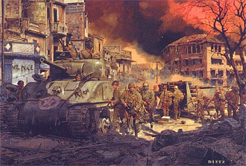 Into the Shadow - 1st Armored Division in Albans, Italy 1944