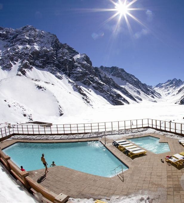 Ski Portillo, Chile  - @K D Eustaquio-Marie Evans THIS is my ski trip #bucketlist