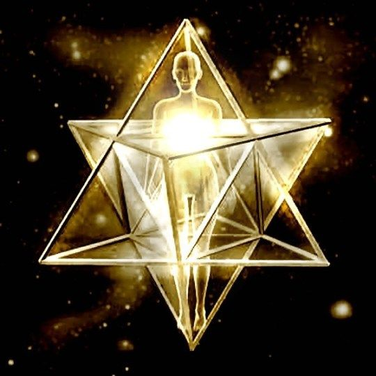 Merkaba - divine light or space/time/dimension vehicle depending on which doctrine you follow or account you hear. http://www.spiritofmaat.com/archive/sep2/merkaba.htm