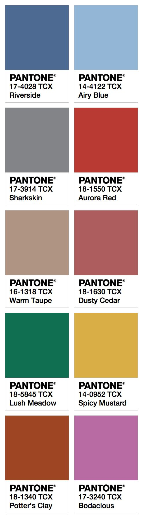 Best Pantone Images On   Color Combinations Fall