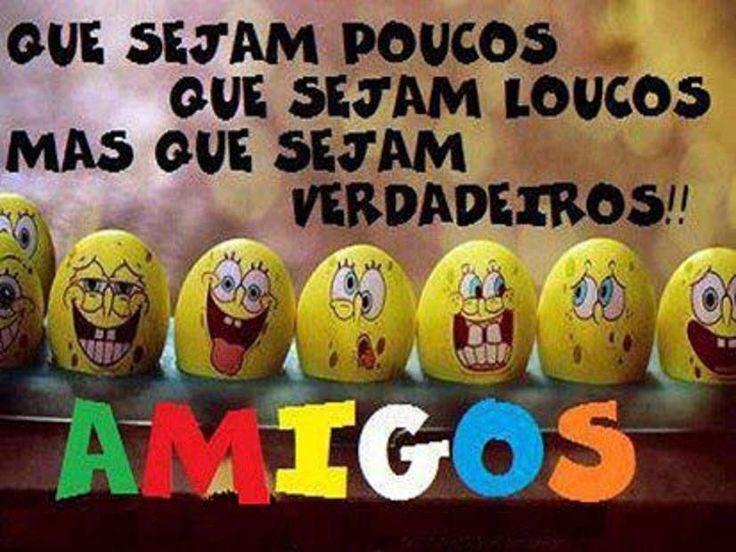 """Post  #FALASÉRIO!  : """"A amizade é algo magnífico, feliz da pessoa que p..."""