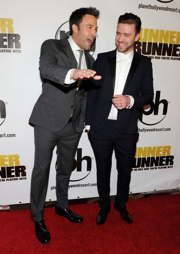 Ben Affleck And Justin Timberlake | GRAMMY.com: Celebrity Photos, Film Runners, Ben Affleck, Runners Runners, Timberlake La, Justin Timberlake, Celebs Diaries, Photo Galleries, In The