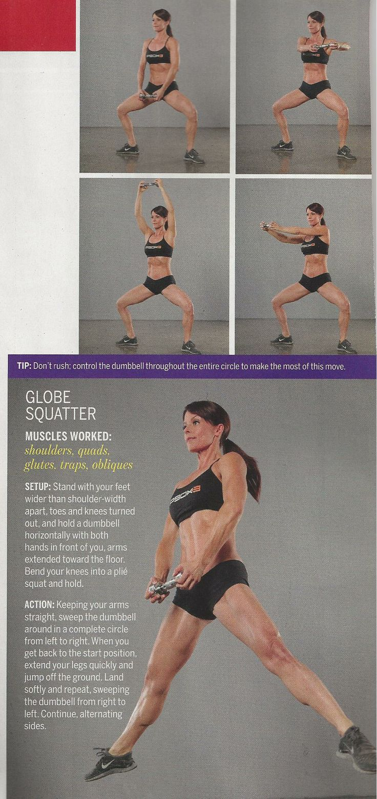 """""""Globe Squatter"""" move from Tony Horton of P90X fame. www.brooklynfitchick.com"""