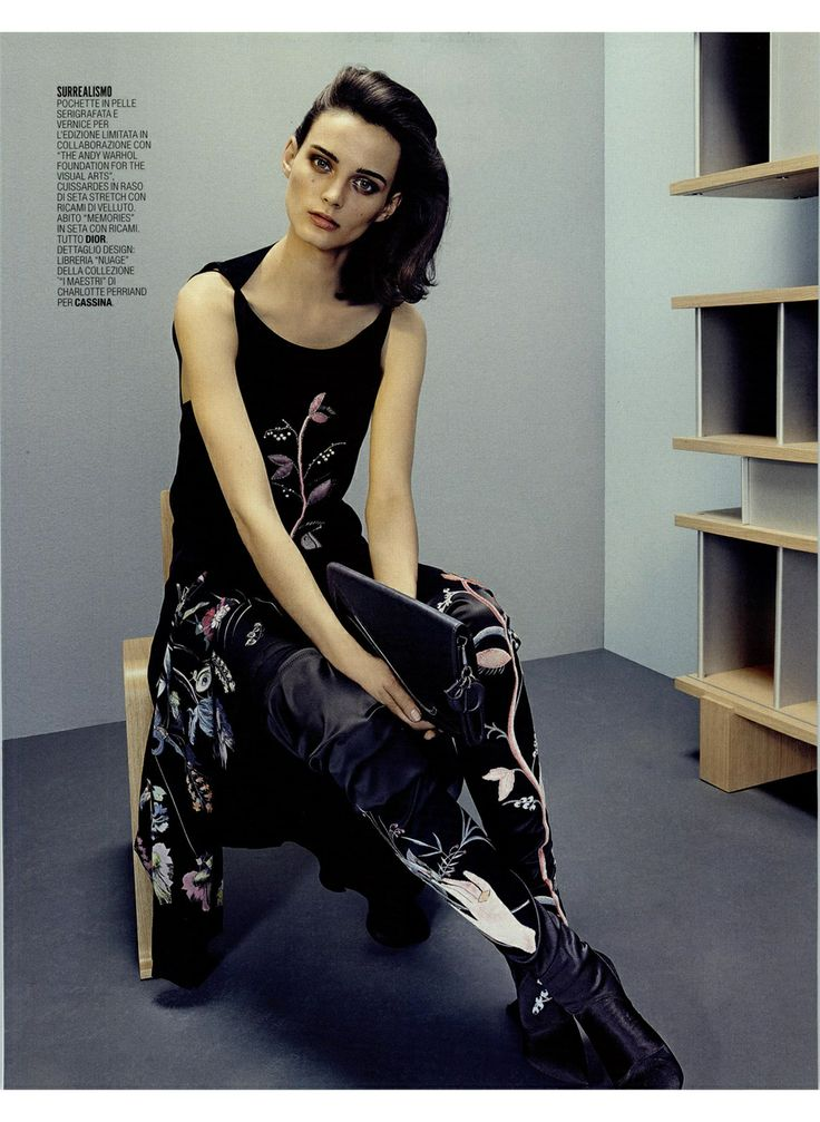 DESIGN DI STILE - Marie Claire November Issue  OMBRA TOKYO, design Charlotte Perriand