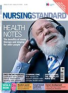 Therapeutic effects of music and singing for older people : Nursing Standard: Vol. 24, No. 19 (RCNi)