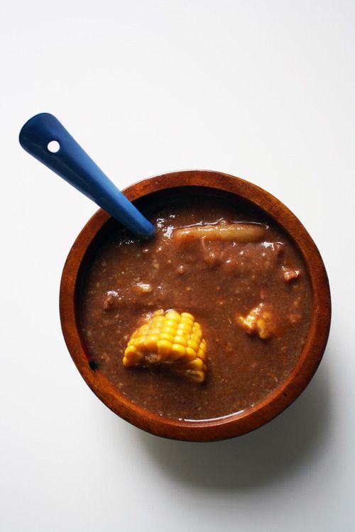 Dominican Bean Stew (Sancocho de habichuela) / Carrolluna.com