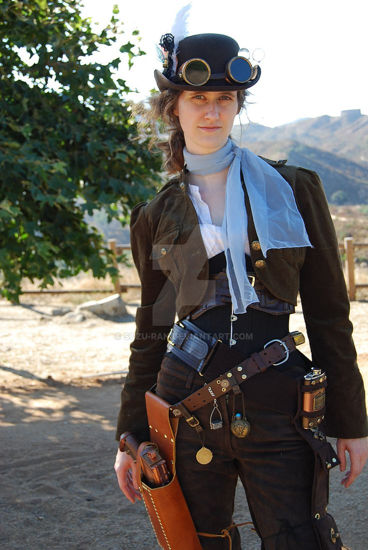 western steampunk woman - Google Search - not digging the ...