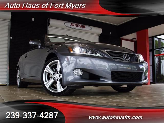 2012 Lexus IS 250C Convertible Ft Myers FL for sale in Fort Myers FL Financing Available - Recently Serviced - Luxury Package - Navigation - Heated & Cooled Seats - Bluetooth