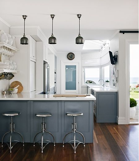 25+ Best Ideas About Blue Grey Kitchens On Pinterest