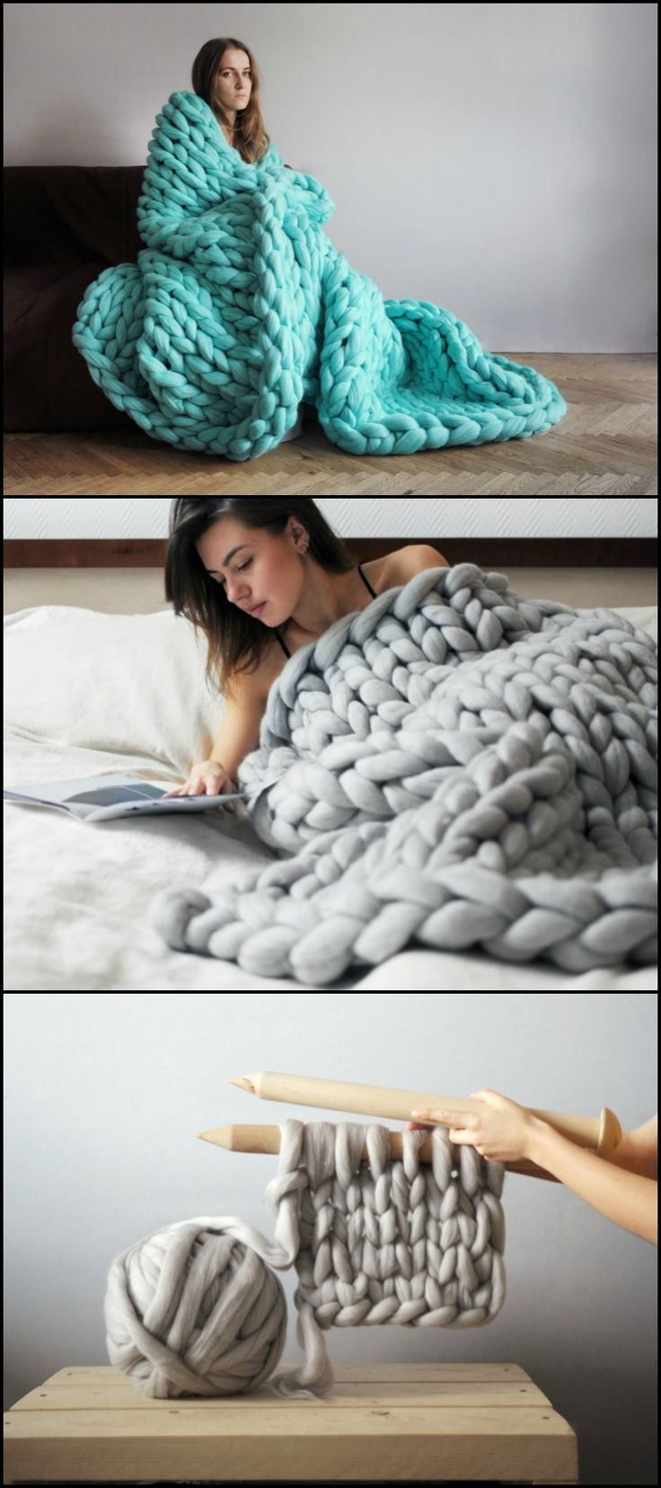 Best 25 Chunky Knit Blankets Ideas On Pinterest Chunky