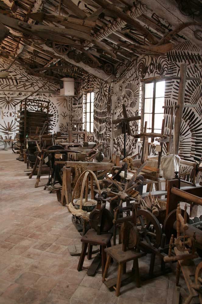 Guatelli Museum, 'museum of everyday life' in Ozzano Taro, a neighborhood in Collecchio, in the province of Parma
