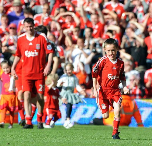 Like father, like son - Carra's lad is a member of Liverpool's Kirkby Academy