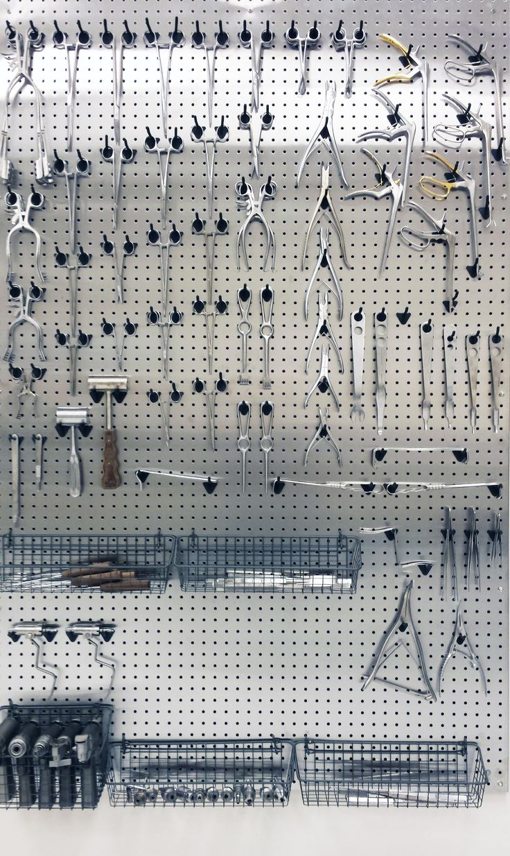 Pegboard Kitchen