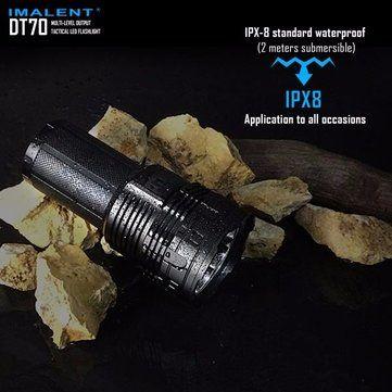IMALENT DT70 XHP70 16000LM Tactical USB Rechargeable LED Flashlight Sale - Banggood.com