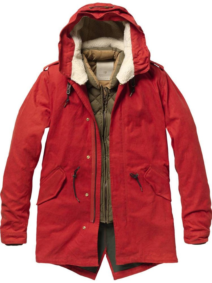 Outdoor parka with inner jacket - Jackets - Scotch & Soda Online Shop