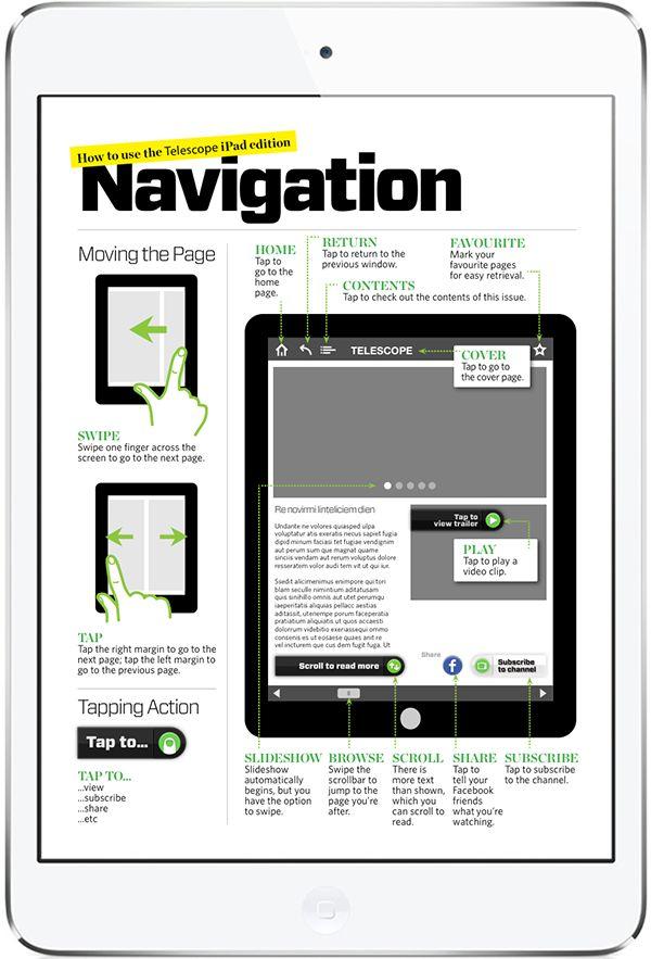 Telescope Free Digital Magazine. More on www.magpla.net MagPlanet #TabletMagazine #DigitalMag