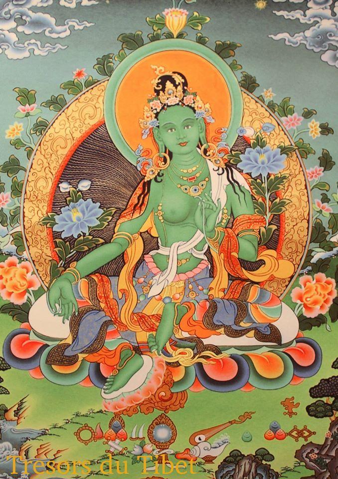 Tara Verte | Trésors du Tibet
