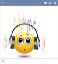 Listening to noisy music