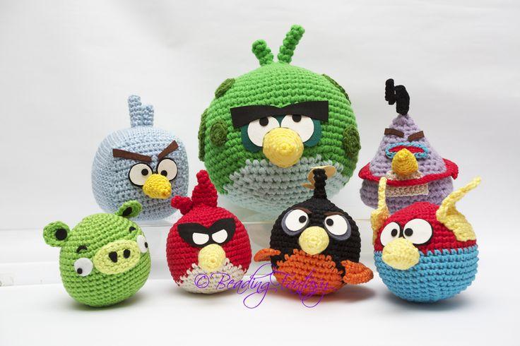 Amigurumi Angry Birds Space : Beading Fantasy: ANGRY BIRDS SPACE crochet ~ angry birds ...