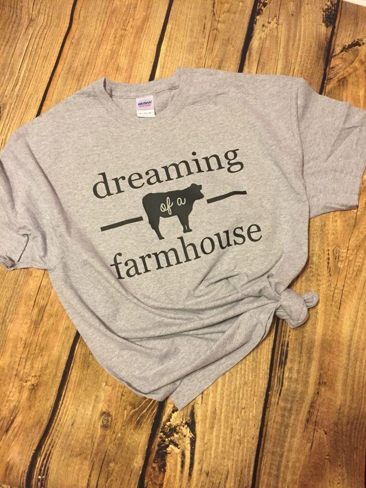 Farmhouse, Farm House, Tees, Farmhouse Tee, T-Shirt, Farmhouse T Shirt, Fixerupper, Fixer Upper by CarriedByGrace on Etsy https://www.etsy.com/listing/498173547/farmhouse-farm-house-tees-farmhouse-tee