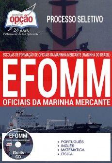 Apostila EFOMM 2017 Oficiais da Marinha Mercante PDF Download Opção Digital Baixar ou Impressa