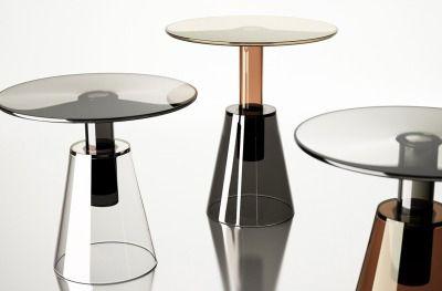Maison & Objet Paris 2015 | ILIA low tables by Christophe Pillet for ENNE.