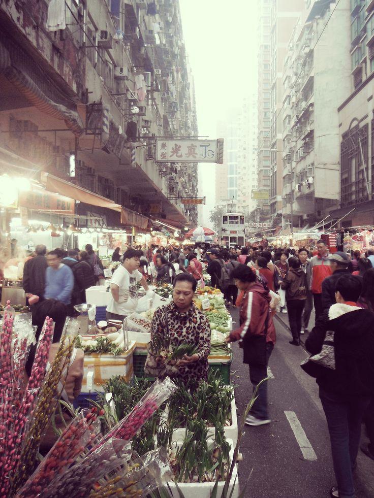 Hongkong street market