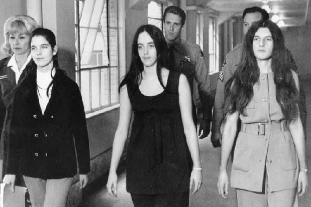 Leslie Van Houten, Susan Atkins, and Patricia Krenwinkel-April 19, 1971