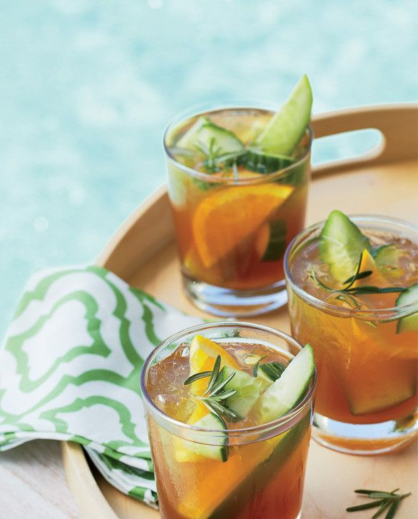 Cocktails for a Crowd - cucumber cooler | Food and Drink | Pinterest