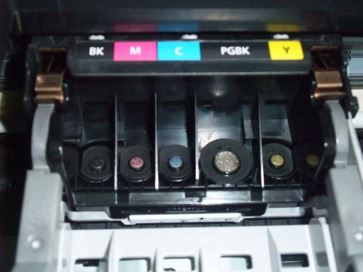Canon Pixma Druckkopf Reinigen 1 Hp Drucker Drucken Reinigen