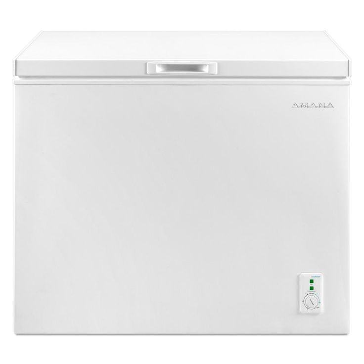 Amana 70 cu ft compact chest freezer in white