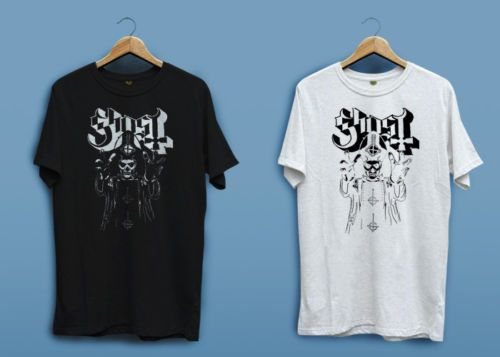 T Shirt Design Website Fashion Ghost Bc Swedish Heavy Metal Band Black White Short O-Neck T Shirts For Men