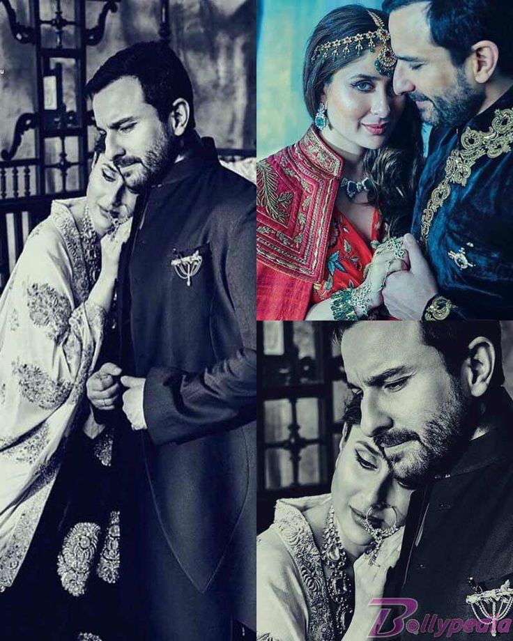 True Royals! Kareena Kapoor Khan and Saif Ali Khan on the cover of Bazaar Bride