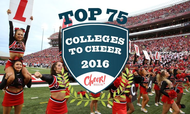 Top 75 Colleges to Cheer