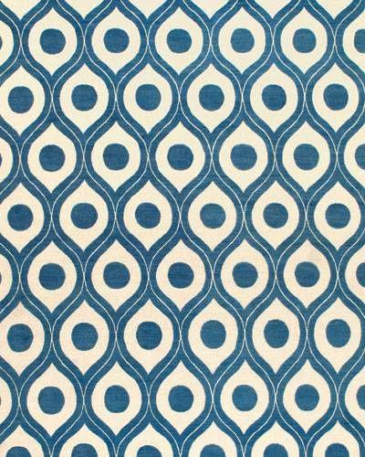 Honeycomb rug by Cadrys.   - ELLEDecor.com