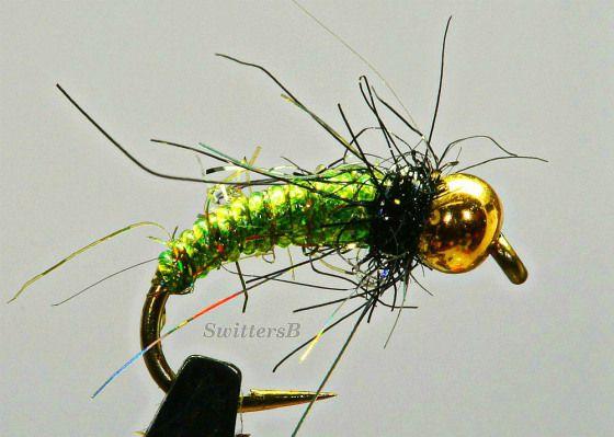 Green Bead Head Pupa Sb Caddis Pupa Larva Emerger