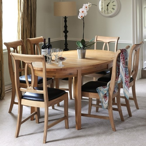 Oval Dining Room Cool Design Inspiration